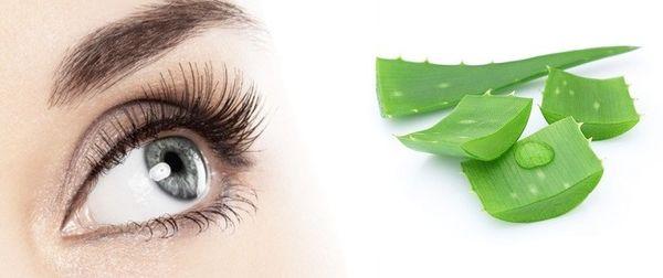 Алоэ использую для лечения глаз
