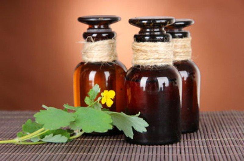 Чистотел - использование при аденоидах