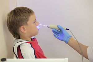лечение аденоидов лазером
