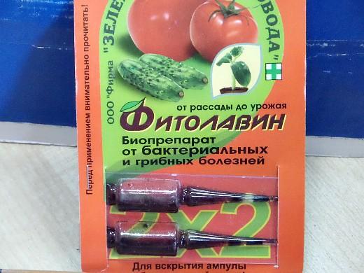 защита сада и огорода от болезней - фитолавин