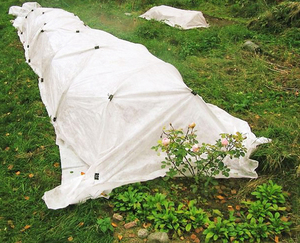 Воздушно-сухое укрытие роз