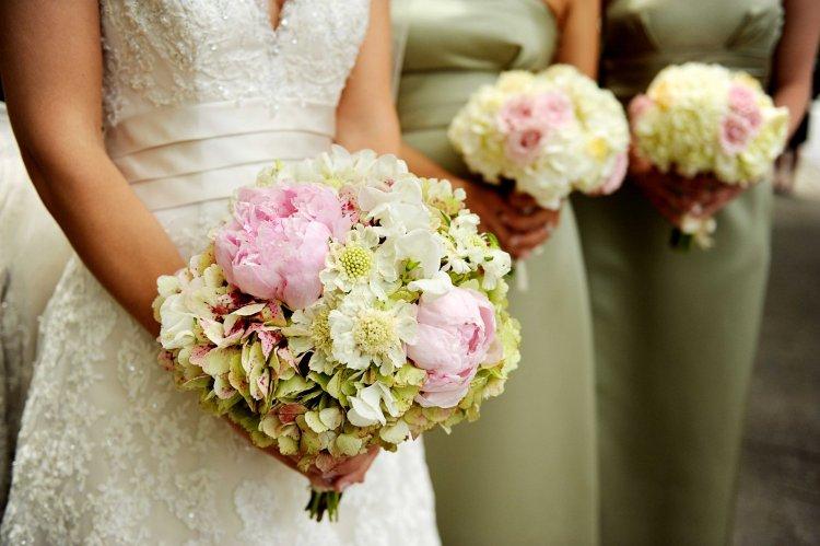 Пионы для невесты